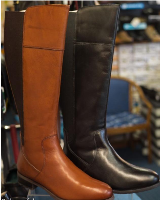 Full length ladies boot